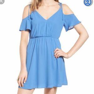 Lush blue dress